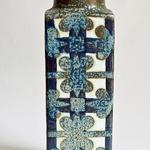 Scandinavian Riihimaki Riihimaen Lasi Oy Riihimaki Grey Blue Art Glass 1472 Vase By Tamara Aladin We Take Customers As Our Gods