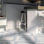 - Colecci/ón Art Nouveau Color Navy Blue 20x20 cm interior y exterior Nais Baldosas cer/ámicas para suelos y paredes