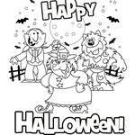 Halloween Coloring Pages 18 Pin