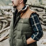 Hoggs of Homme Fife Berwick Coton Shirt à manches courtes bleu marine//marron clair//vert Carreaux