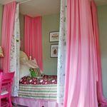 Canopy Beds Hula Hoop Chandelier Teen Room Decor Mirrors Paris Themed