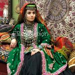 Azerbaijan National Woman Attire Garabakh Region Xix Century By Fr Collection Uzbek Clothing Traditional Outfits Azerbaijani Clothing