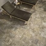 Carrelage Exterieur Imitation Pierre 50x50 Ardesia Grip Naturel Collection Geotech Monocibec Moncarro Geotech Monocibec Carrel Tile Floor Flooring Texture