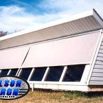 Olson Rolling Shutters Drop Shades Olsoniron Rolling Shutter Shutters Roll Down Hurricane Shutters