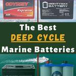 Marine Battery Vs Deep Cycle Battery Batteryhunters Marine Batteries Boat Battery Battery Maintenance