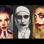 مجموعة صور للمكياج روعة للهالوين 2019 Amazing Makeup Ideas For Halloween Halloween Makeup Easy Creepy Halloween Makeup Cute Halloween Makeup