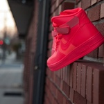 princeinjeans: Air Force 1 Hyperfuse Solar Red Nicolas