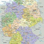 Harta Germaniei Pe Landuri In 2020 Hartă Germania Berlin