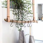 Deco Blumenampel Baumleiter Handtuchhalter Kleiderhalter Einfach Zu Verwenden 100% Wahr Alte Holzleiter 111