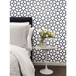 Psw1004rl Magnolia Home Vol Ii Stripe Black Peel And Stick Wallpaper In 2020 Magnolia Homes Home Wallpaper Home