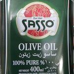 Sasso Olive Oil 400ml Ruperhat Global Ltd Grocery Olive Oil Oils