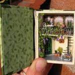 dB 1:12 SCALA 10 Garofano Fiori dollshouse miniature fiori giardino