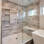 Modern Bathroom Shower Tile Ideas Bathroom Remodel Master Master Bathroom Renovation Small Master Bathroom