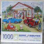 "New 300 Piece Kay Lamb Shannon Art Puzzle /""Treasure Shop/"" Large Format 18x24"