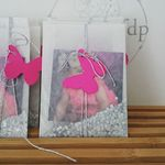 """Vintage Floral Pastel Cadre Photo Mariage St Valentin Fiançailles Cadeau 4X6/"""" ou 5X7/"""""""
