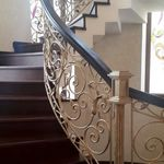 Pin By Ahmed Hosam On درج داخلي Stair Railing Design Staircase Design Railing Design