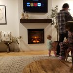 Most Up To Date Photographs Electric Fireplace Farmhouse Tips 45