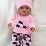 Gewidmet Puppenkleidung 36cm Rosa Pink Jacke Little Baby Born Kleider Kleidung Klamotten Puppen & Zubehör