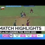 Wil Vs Sal 4th Match Highlights Rsws T20 2020 Jonty Rhodes And Albie Morkel Did It Possible Cricfull Live Match Highlights Cricket Match Match