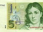 Carl Friedrich Gauss 10 Deutsche Marks Glossy Poster Picture Photo