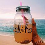Pin By Danielle Moon On Aloha In 2019 Mason Jar Lemonade