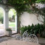 Restos De Pedestales De La Vía Sacra Del Sacromonte High Walls Vegetation Fountain