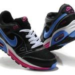 Nike Air Max 2011 Men's Running Shoe BlackBlue 456325 006