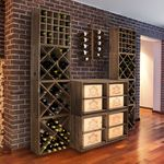 weinregal profi weinregalprofi on pinterest. Black Bedroom Furniture Sets. Home Design Ideas