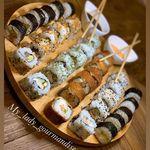 Best Sushi And Wok At Blanco ألذ سوشي وأحسن ووك في Youtube Food Sushi Feta Cheese