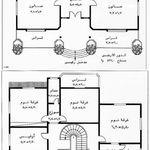 خرائط دور سكنية عراقية 300 متر معاينة و تحميل بصيغة Pdf منتديات درر العراق House Map House Construction Plan 30x50 House Plans