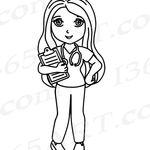Buy 3 Get 1 Free Nurse Clipart Nurse Clip Art Kawaii Nurse Etsy In 2021 Nurse Clip Art Clip Art Digital Stamps