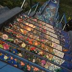 Descendo Ou Subindo Estas Escadas Sao Sempre Lindas Arte De Rua