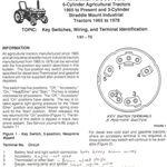 Bilderesultat For Ford 4000 Ignition Switch Wiring Tractor Lights Tractors Light Switch Wiring