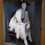 Punch & Judy German Vtg 1910 Wood Carved Hand Puppet Devil Krampus Kasperle