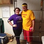 Hilarious Easy Dodgeball Couple Costumes Funny Couple Costumes