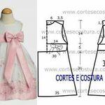 Vestido de manga larga MAYORAL algodón cenefa