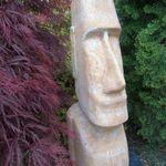 Gartenfigur neckischer Zwerg der Troll Deko Beton