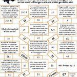 5 Nbt 6 Harry Potter Division Maze The Final Problem Math