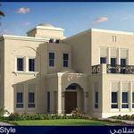 مخطط شاليه او استراحه مساحه 200 متر مربع Arab Arch House Styles Mansions House