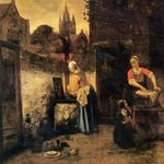 Pieter De Hooch Catalog Raisonne 1980 Wikimedia Commons