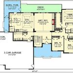 Ranch Style House Plan 3 Beds 2 5 Baths 2253 Sq Ft Plan 1010 194 Ranch Style House Plans Ranch Style Homes Simple Ranch House Plans