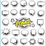 Sprechblasen Zum Ausdrucken Kostenlos Sprechblase Ausdrucken Comics Und Cartoons