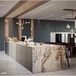 أحدث اشكال جبس بورد مطابخ 2020 روعة Modern Kitchen Design Kitchen Ceiling Design Kitchen Design