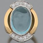 Coussin Forme blue fire opal .925 Sterling Silver Ring Taille 5-10