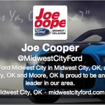 Joe Cooper Ford Midwest City >> Joe Cooper Midwestcityford On Pinterest