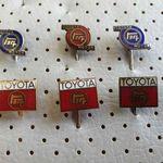 Toyota Car Vintage Enamel Pins Collection For Sale Toyota Motors Vehicle Japan Cars \u30c8\u30e8\u30bf\u81ea\u52d5\u8eca