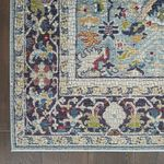 Williston Forge Handgefertigter Teppich Neve In Schieferblau Wayfair De In 2020 Blumenteppich Blaue Teppiche Quadratische Teppiche
