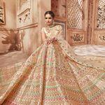 Amiable Net Heavy Embroidered Pakistani Sharara Kameez Wedding Bridal Gharara Dress Ei35 Elegant In Smell Women's Clothing Other Women's Clothing