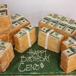Money Cake Fototorte Geld