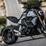 Chopper & Cruiser Motorrad Hupen Cover Black Gloss Flame für
